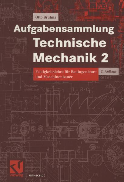 Aufgabensammlung Technische Mechanik 2 - Coverbild