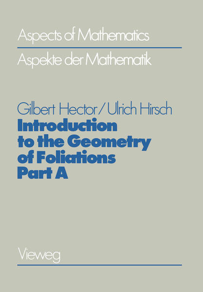 Introduction to the Geometry of Foliations, Part A - Coverbild