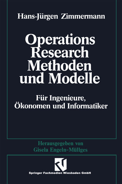 Methoden und Modelle des Operations Research - Coverbild