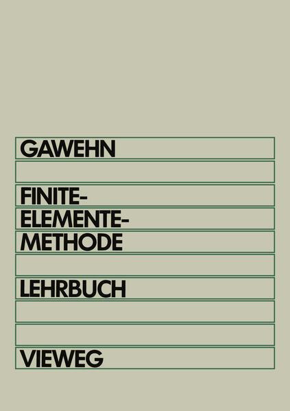 Finite-Elemente-Methode - Coverbild
