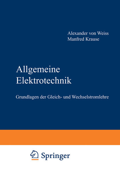Allgemeine Elektrotechnik - Coverbild