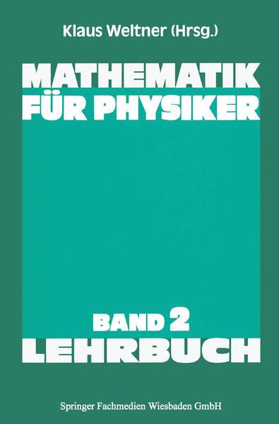 Mathematik für Physiker - Coverbild