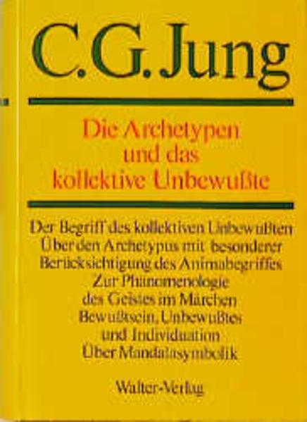 Gesammelte Werke. Bände 1-20 / Band 9/1: Die Archetypen und das kollektive Unbewußte - Coverbild