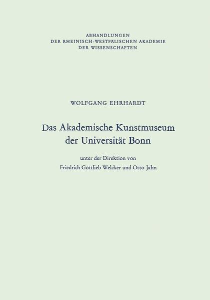 Das Akademische Kunstmuseum der Universität Bonn - Coverbild
