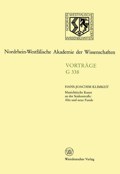 Manichäische Kunst an der Seidenstraße: Alte und neue Funde - Coverbild
