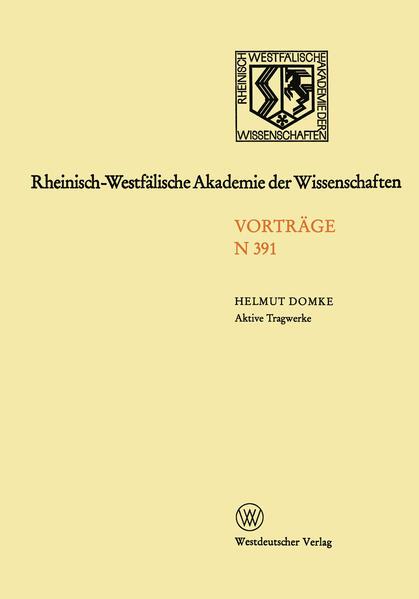 Rheinisch-Westfälische Akademie der Wissenschaften - Coverbild