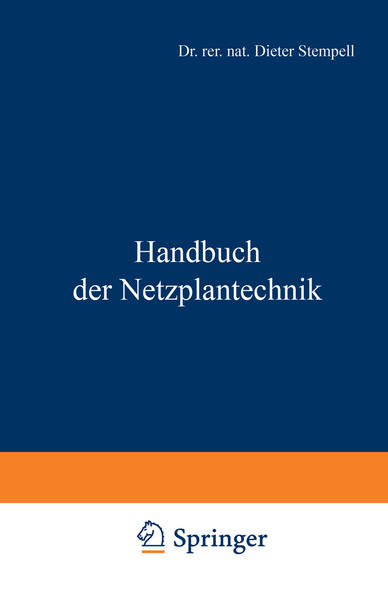 Handbuch der Netzplantechnik - Coverbild