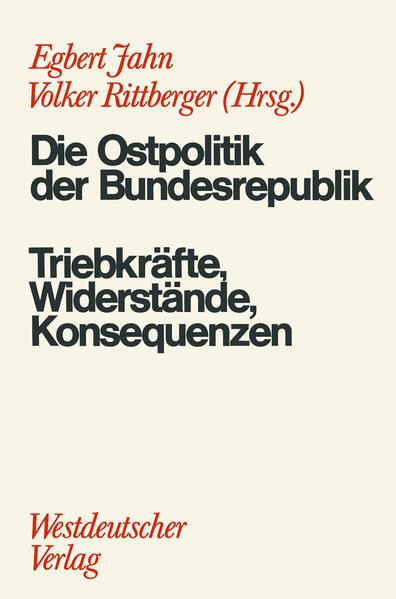 Die Ostpolitik der BRD - Coverbild