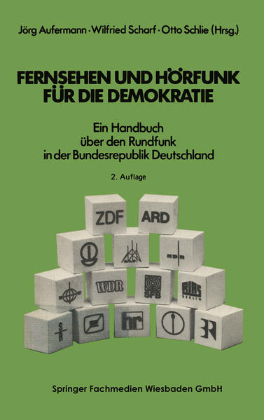 Fernsehen und Hörfunk für die Demokratie - Coverbild