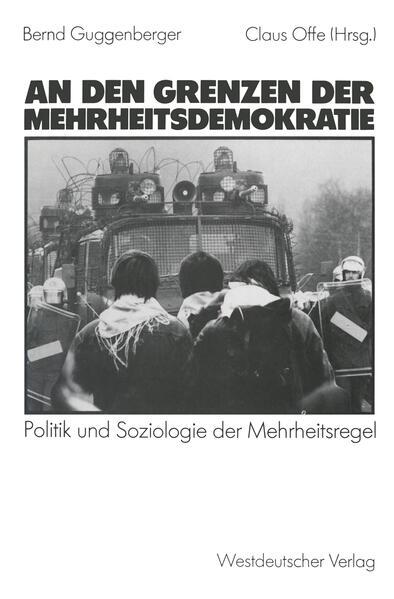 An den Grenzen der Mehrheitsdemokratie - Coverbild