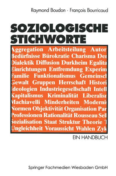 Soziologische Stichworte - Coverbild