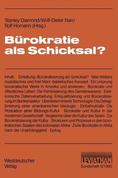 Bürokratie als Schicksal? - Coverbild