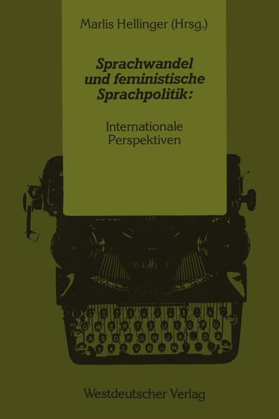 Sprachwandel und feministische Sprachpolitik: Internationale Perspektiven - Coverbild