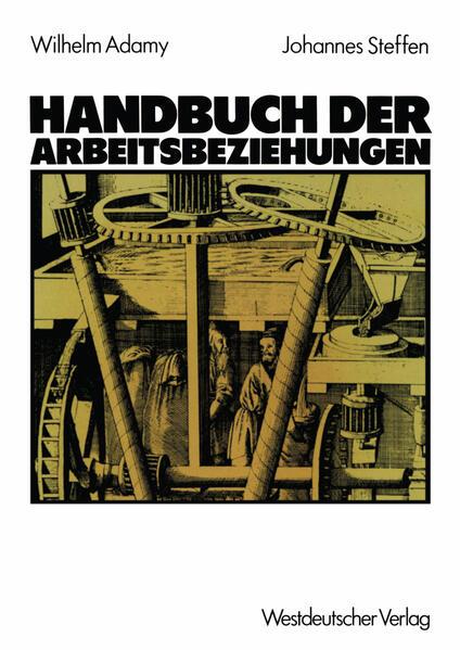 Handbuch der Arbeitsbeziehungen - Coverbild
