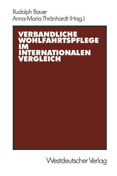 Verbandliche Wohlfahrtspflege im internationalen Vergleich - Coverbild