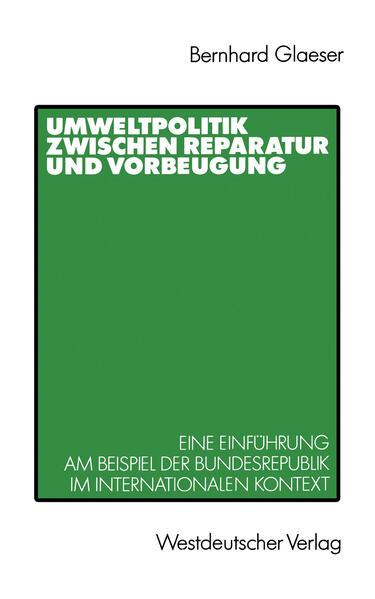 Umweltpolitik zwischen Reparatur und Vorbeugung - Coverbild