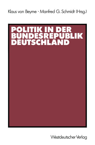 Politik in der Bundesrepublik Deutschland - Coverbild