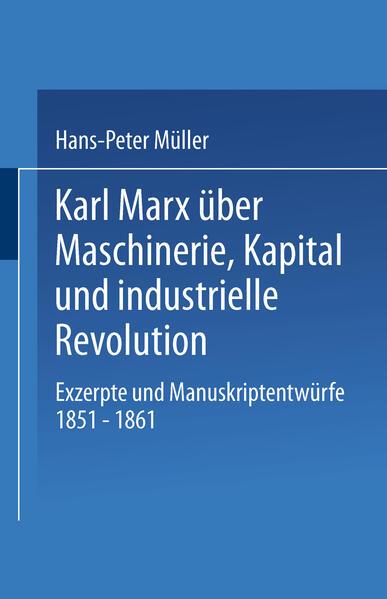 Karl Marx über Maschinerie, Kapital und industrielle Revolution - Coverbild