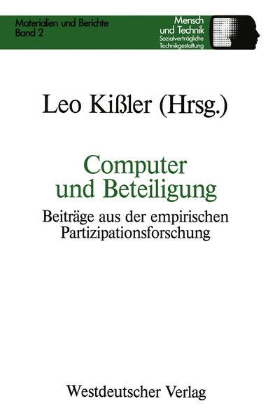Computer und Beteiligung - Coverbild
