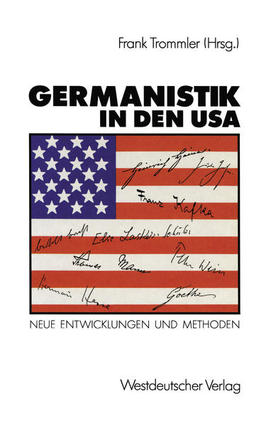 Germanistik in den USA - Coverbild