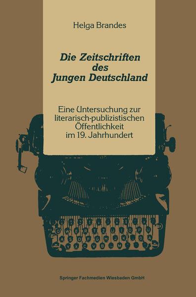 Die Zeitschriften des Jungen Deutschland - Coverbild