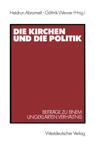 Die Kirchen und die Politik - Coverbild