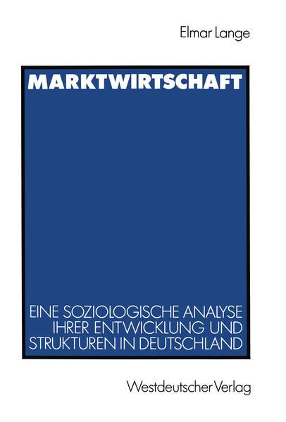 Marktwirtschaft - Coverbild