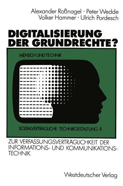 Digitalisierung der Grundrechte? - Coverbild