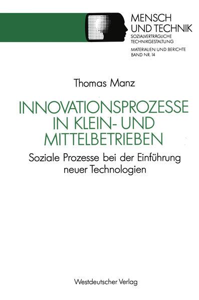 Innovationsprozesse in Klein- und Mittelbetrieben - Coverbild