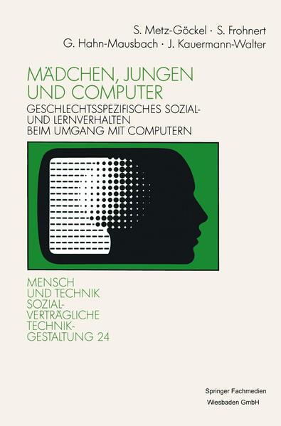 Mädchen, Jungen und Computer - Coverbild