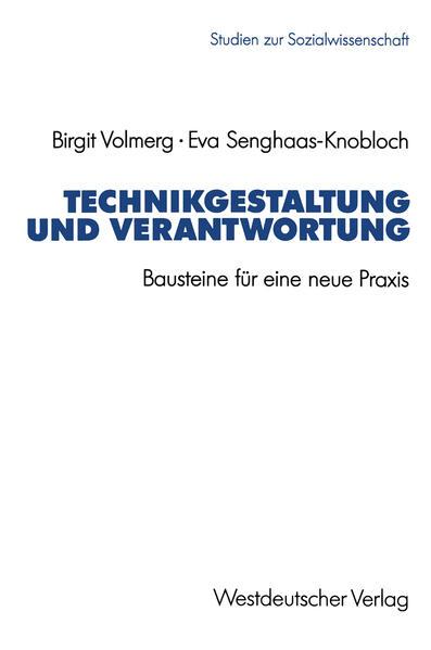 Technikgestaltung und Verantwortung - Coverbild