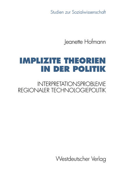 Implizite Theorien in der Politik - Coverbild