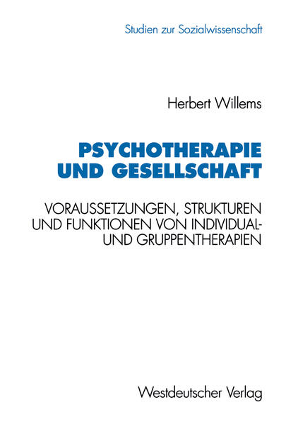 Psychotherapie und Gesellschaft - Coverbild
