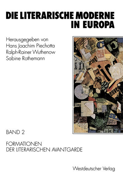 Die literarische Moderne in Europa - Coverbild