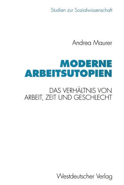 Moderne Arbeitsutopien - Coverbild