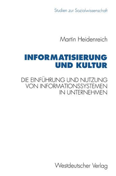 Informatisierung und Kultur - Coverbild