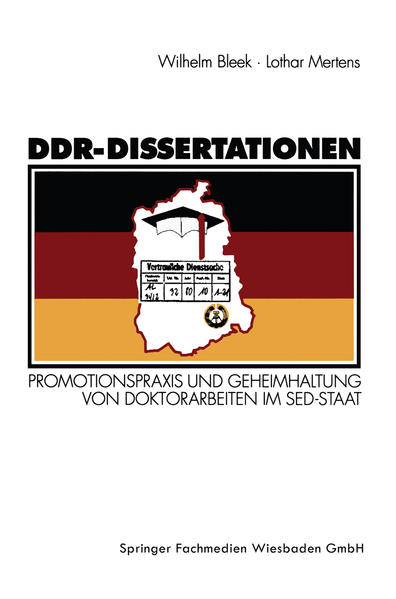 DDR-Dissertationen - Coverbild