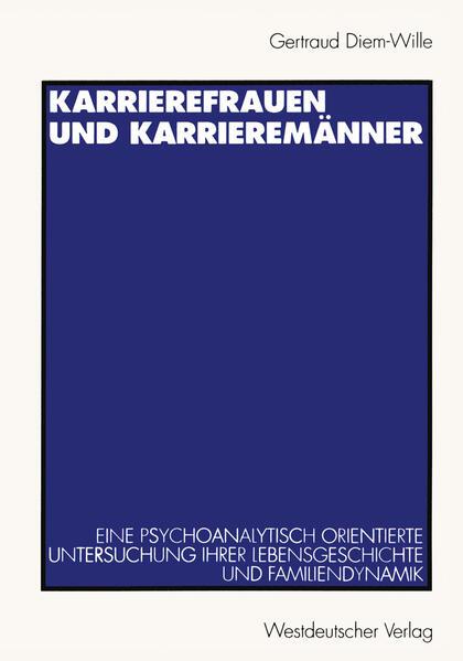 Karrierefrauen und Karrieremänner - Coverbild