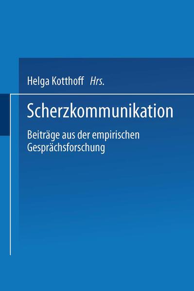 Scherzkommunikation - Coverbild