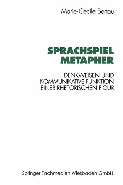 Sprachspiel Metapher - Coverbild