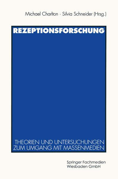 Rezeptionsforschung - Coverbild