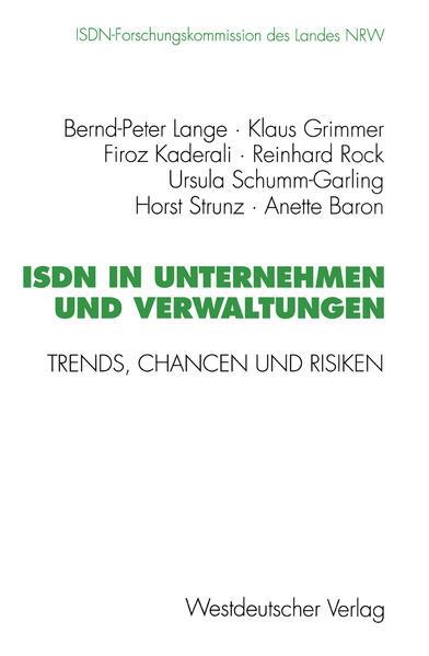 ISDN in Unternehmen und Verwaltungen - Coverbild
