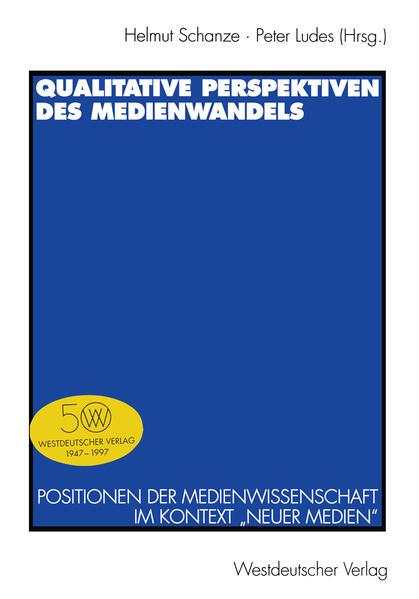 Qualitative Perspektiven des Medienwandels - Coverbild