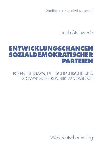 Entwicklungschancen sozialdemokratischer Parteien - Coverbild