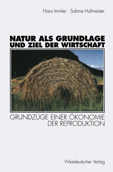 Natur als Grundlage und Ziel der Wirtschaft - Coverbild