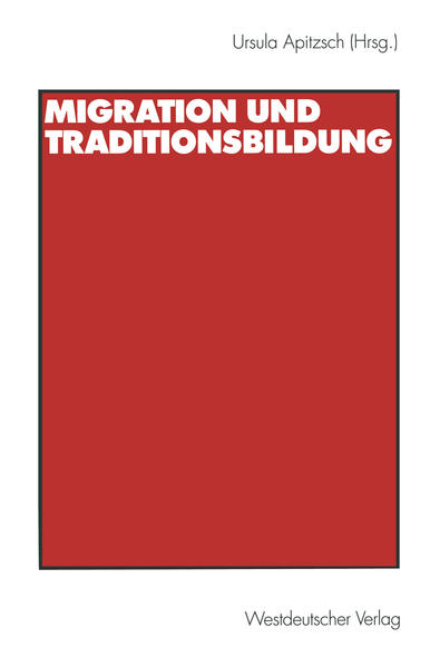 Migration und Traditionsbildung - Coverbild