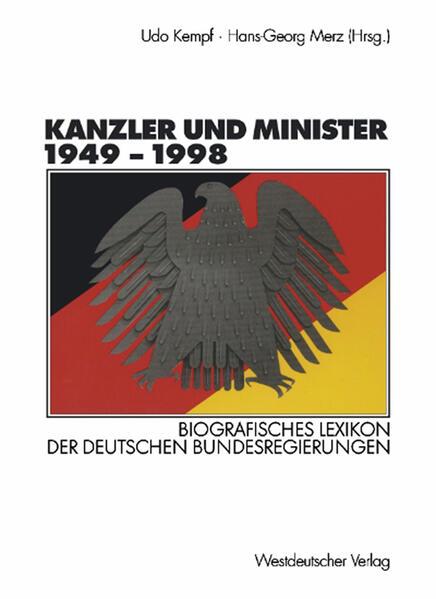 Kanzler und Minister 1949 – 1998 - Coverbild