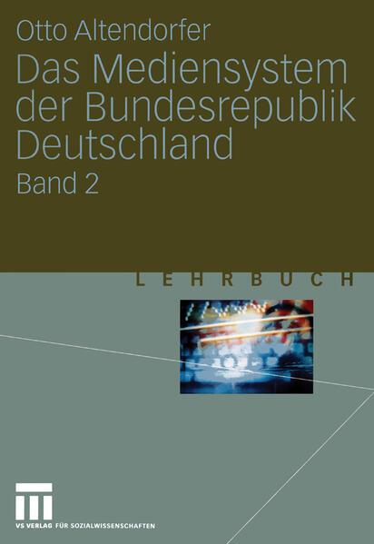 Das Mediensystem der Bundesrepublik Deutschland - Coverbild