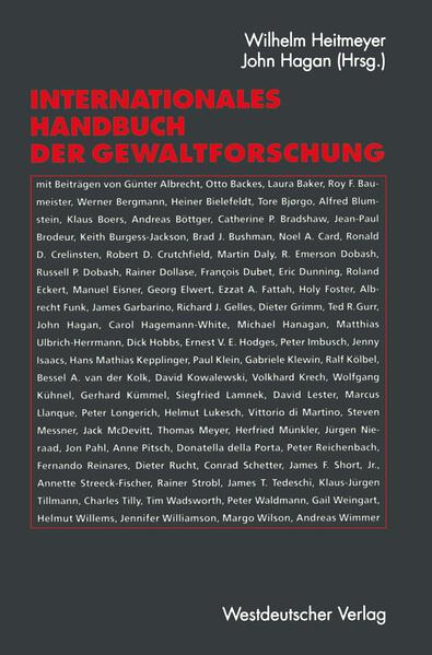Internationales Handbuch der Gewaltforschung - Coverbild
