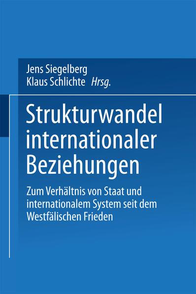 Strukturwandel internationaler Beziehungen - Coverbild